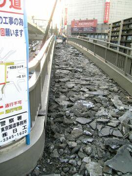 渋谷歩道橋